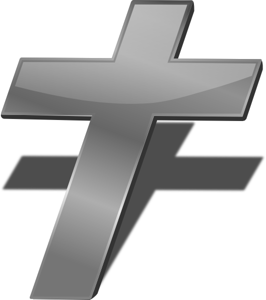 Black And White Free Christian Clip Art