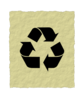 Recycled Paper Symbol Clip Art