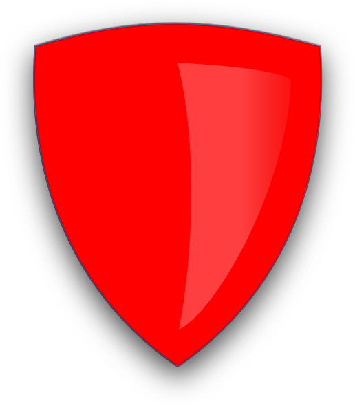 Red Shield Clip Art at Clker.com - vector clip art online ...