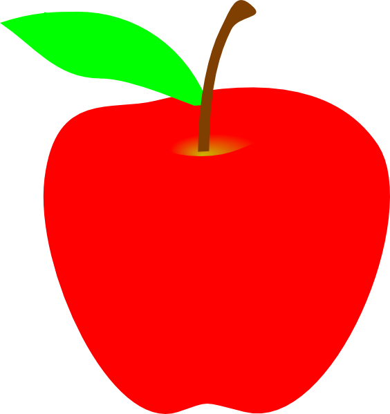clipart picture of apple - photo #8