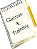 Classes And Training Clip Art