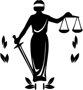 Chief of Justice Clip Art