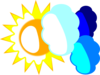 Sun And Clouds - Behavior Management In The Classroom Clip Art