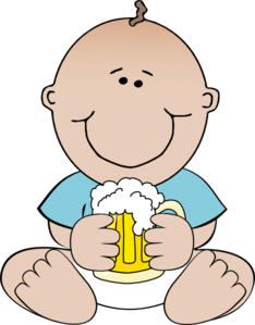 beer baby clip art at clker com vector clip art online royalty rh clker com clipart of a baby tiger clipart of a baby