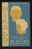 Cincinnati Federal Theatre [presents]  Mikado  [a] Gilbert & Sullivan Operetta Clip Art