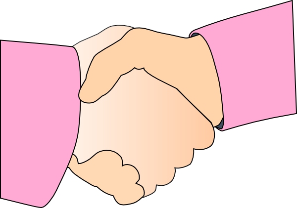 children handshake clipart - photo #24