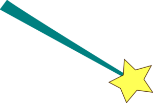 Star Wand Clip Art At Clkercom Vector Online Royalty Free