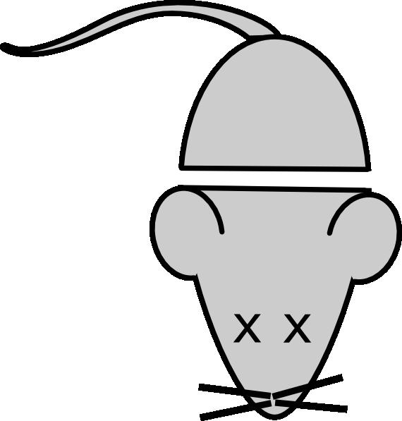 headless lab mouse template clip art at clker com vector clip art