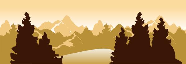 Landscape 1 clip art at clker com vector clip art online royalty - Mountain Scenery Clip Art At Clker Com Vector Clip Art