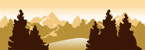 Mountain Scenery Clip Art