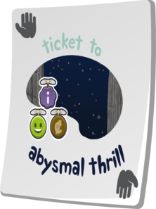 Paradise Ticket Abysmal Thrill Clip Art
