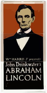 Wm. Harris, Jr. Presents John Drinkwater S Abraham Lincoln Clip Art