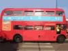 Route Routemaster Outside Golders Green Tube Station Side View Clip Art