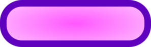Pink Rounded Rectangle Button, Purple Border Clip Art