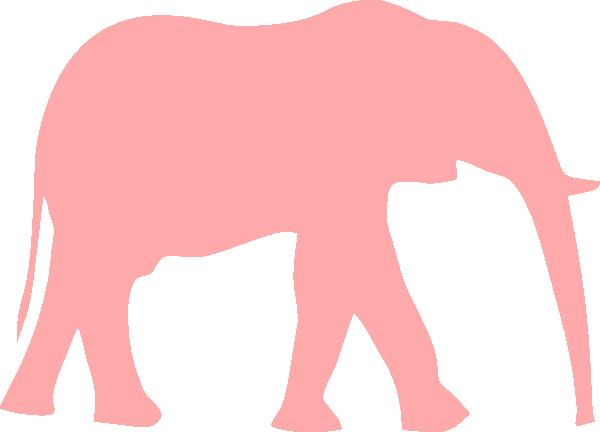 clip art pink elephant - photo #37
