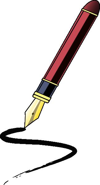 Pen Clip Art at Clker.com - vector clip art online ...