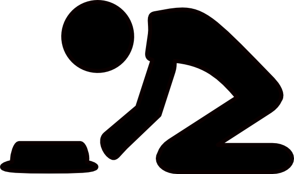 Kneeling Man Clip Art at Clker.com - vector clip art ...