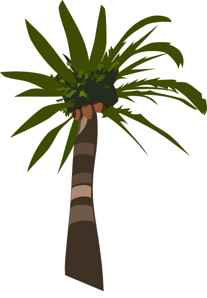 palm tree clip art - photo #17