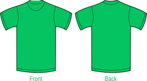 Plain Green Shirt Clip Art