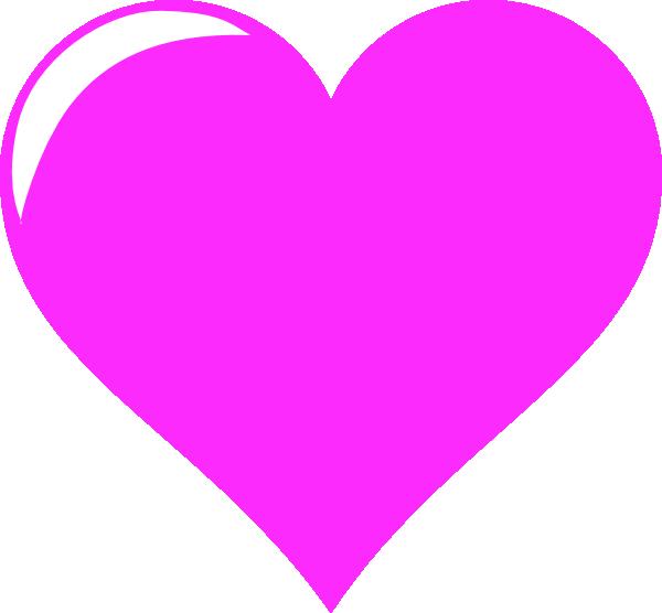 Download Tes Hot Pink Love Clip Art at Clker.com - vector clip art ...