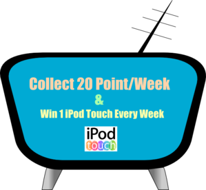 Win 1 Ipod Touch Every Week Clip Art