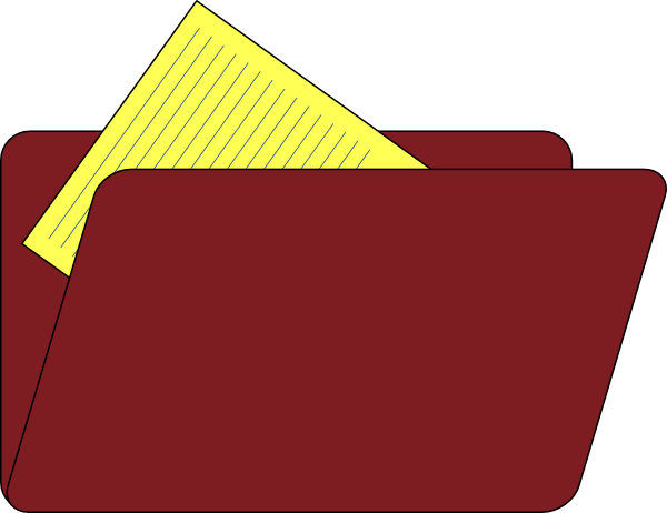 free clipart folder icon - photo #18
