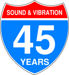 Interstate Anniversary Sign Clip Art