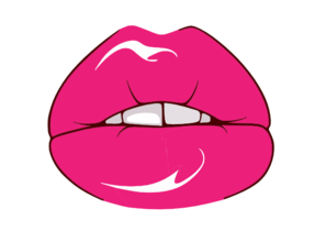 Freevector Sexy Lips Vector Clip Art