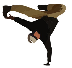 Break Dancer Clip Art