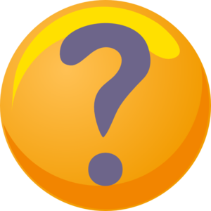 Question Mark Purple Yellow Clip Art