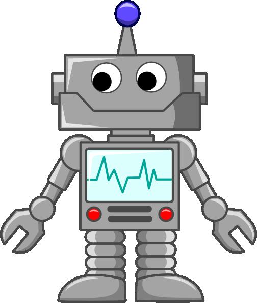 Cartoon Robot Toy : Robot cartoon clip art at clker vector