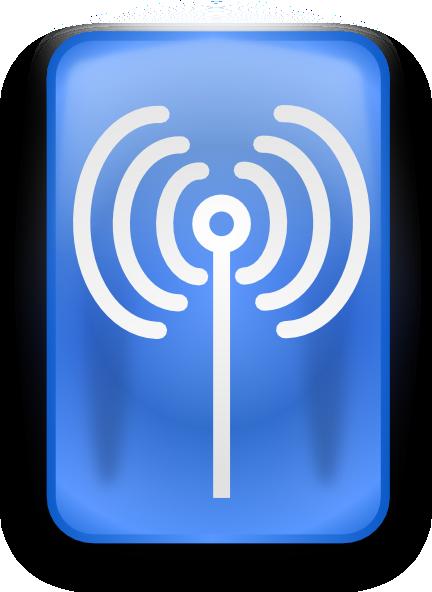 WiFi Symbol clip art