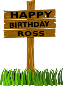 Birthday Sign Clip Art