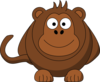 Huge Cartoon Monkey Clip Art