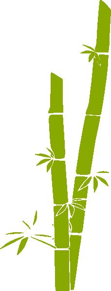 Bamboo clip art at clker vector online