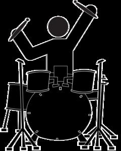 boy drummer clip art at clker com vector clip art online royalty rh clker com marching band drummer clipart jazz drummer clipart
