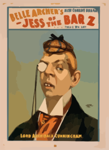 Belle Archer S New Comedy Drama, Jess Of The Bar Z Clip Art