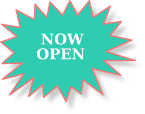 Now open. Sign clip art at