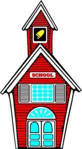 Red School Clip Art