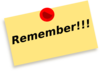Remember Note Wqq Clip Art