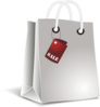 White Shopping Bag Clip Art