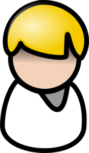 Man With White Shirt Clip Art