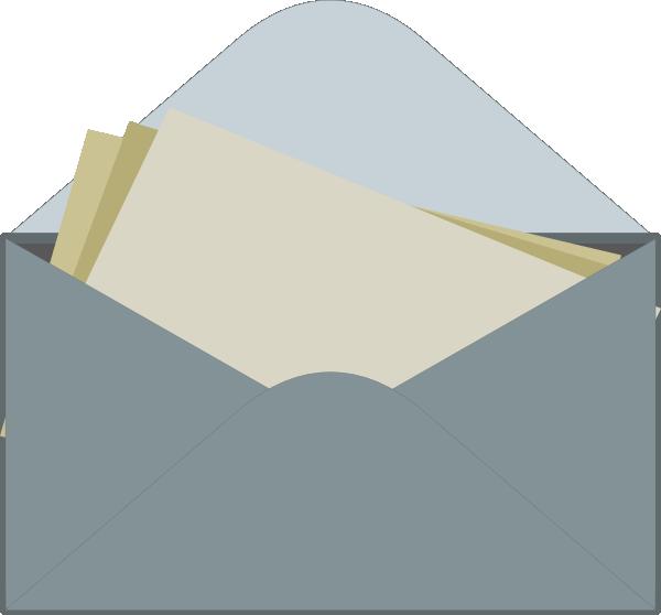Envelope Letter Clip Art At Clker Com Vector Clip Art Online