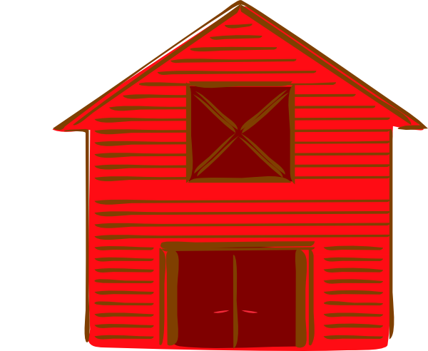 Http Www Clker Com Clipart Red Barn 2 Html