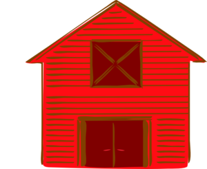 red barn clip art at clker com vector clip art online royalty rh clker com big red barn clipart Drawings and Paintings of Barns