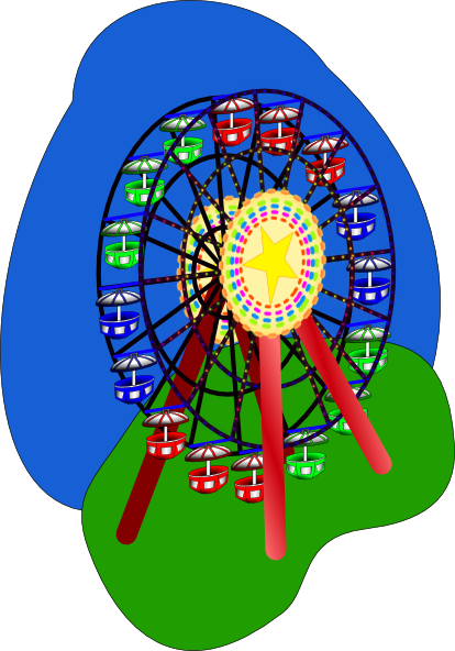 ferris wheel clipart png - photo #15