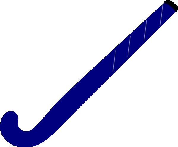 Hockey Stick Template Hockey Stick Blue Clipart