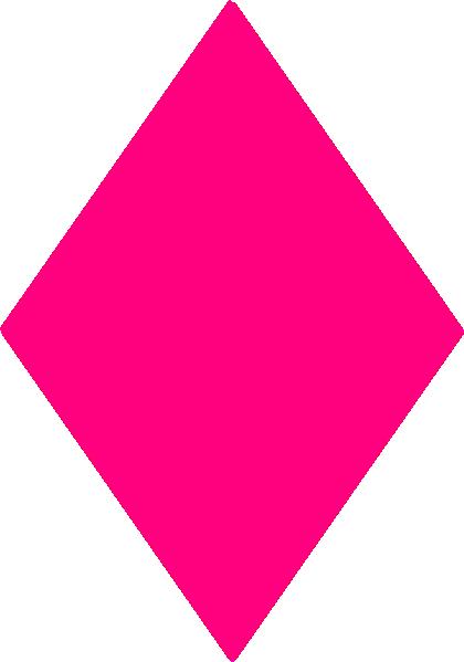 Pink Diamond Clip Art at Clker.com - vector clip art ...