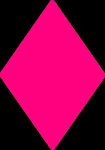 Diamond pink. Clip art at clker