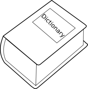 Dictionary Clip Art